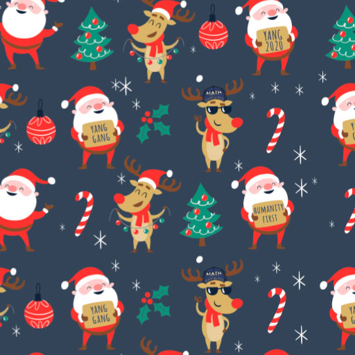 Gift Wrap Santa Claus Christmas Wrapping Paper Funny wrapping paper